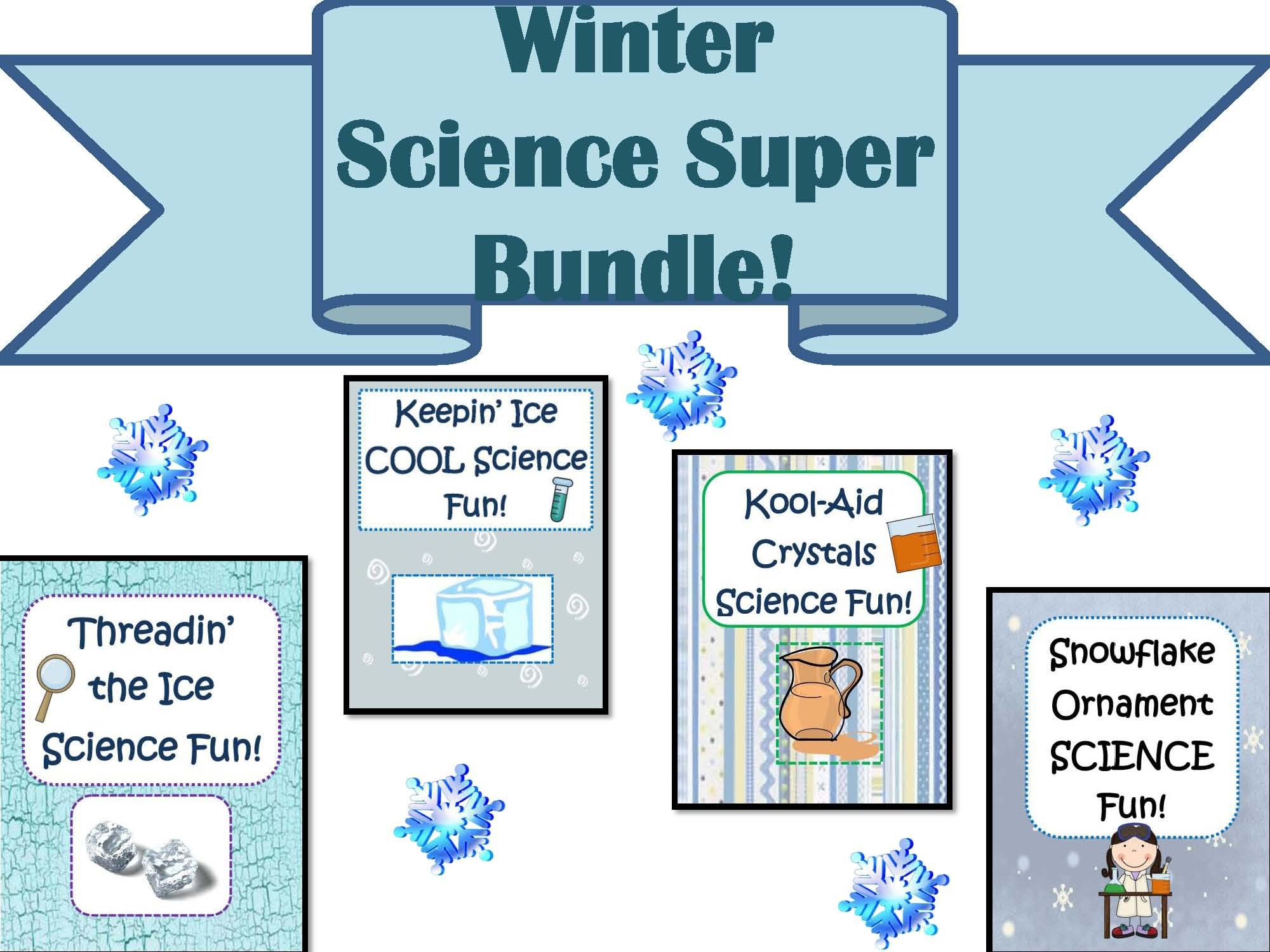 Publishers Tech Girl Winter Science Super Bundle