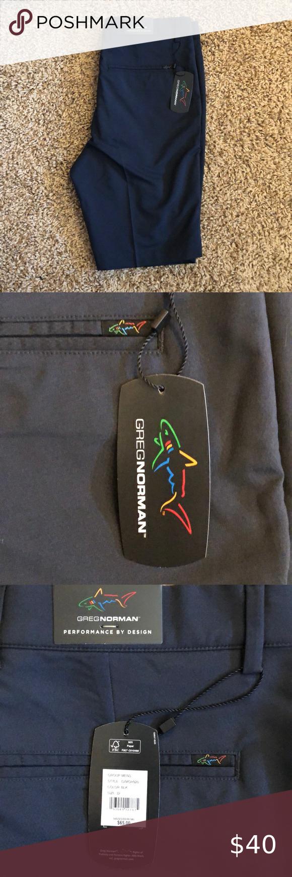 Greg Norman Performance Golf Shorts