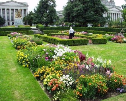 The Sunken Garden At Washington State Capitol Grounds In Olympia Another Wedding Site Favorite