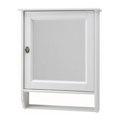 $99.99 - flÅren white mirror cabinet, ikea - master | bathroom