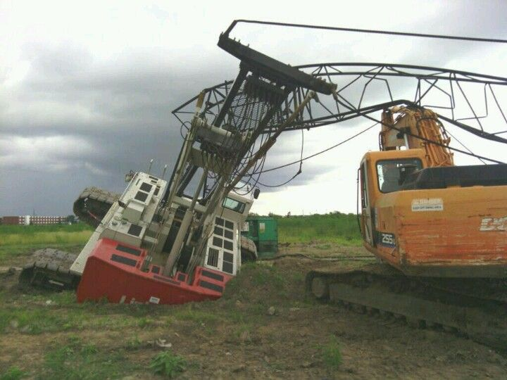 Should have used crane mats