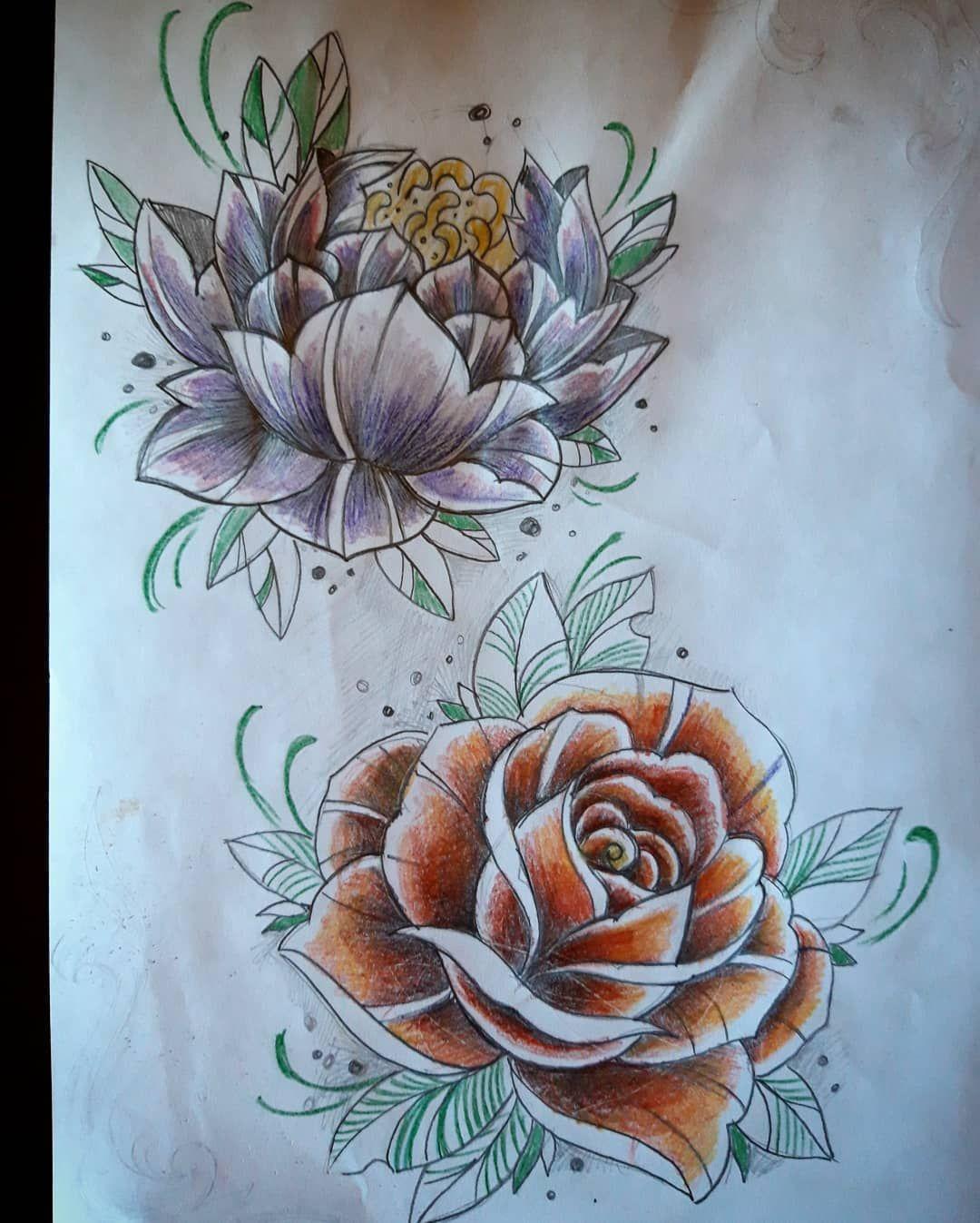 #tattoosketch #rosetattoo #flowerstattoo #flowerstattoosketch #pencildraw #drawing #tattoodrawing #rosatatuata #peoniatattoo #genovatatuatore #tatuatoregenova #zenatattoo #tattoostudiodanilo