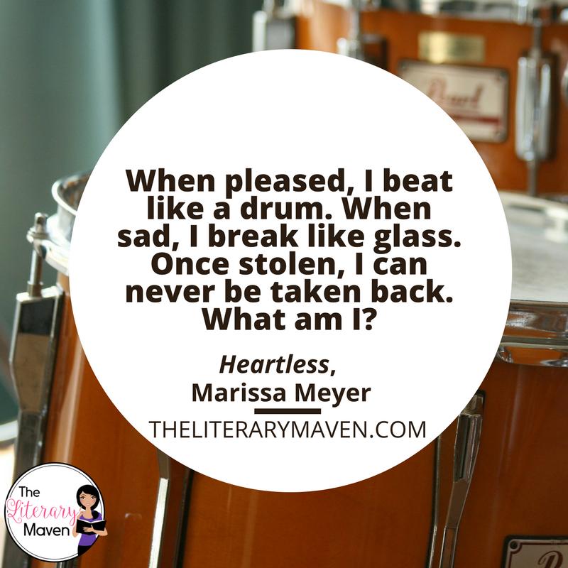 Heartless by Marissa Meyer is a
