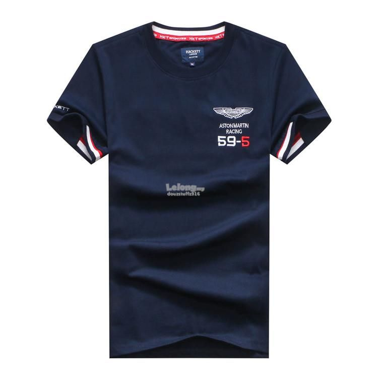 c944ed86b HKT Hackett Sport Aston Martin Racing 59-5 Summer Men T-shirt ...