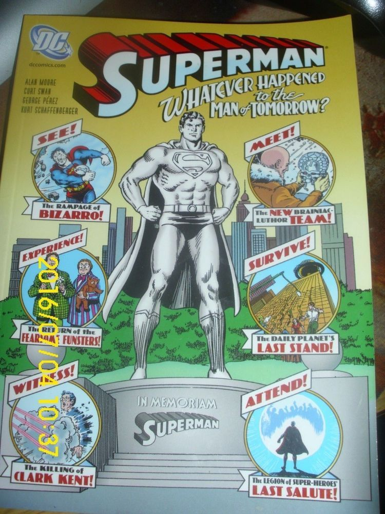 Comics Dc Comics Superman What Ever Happened To The Man Of
