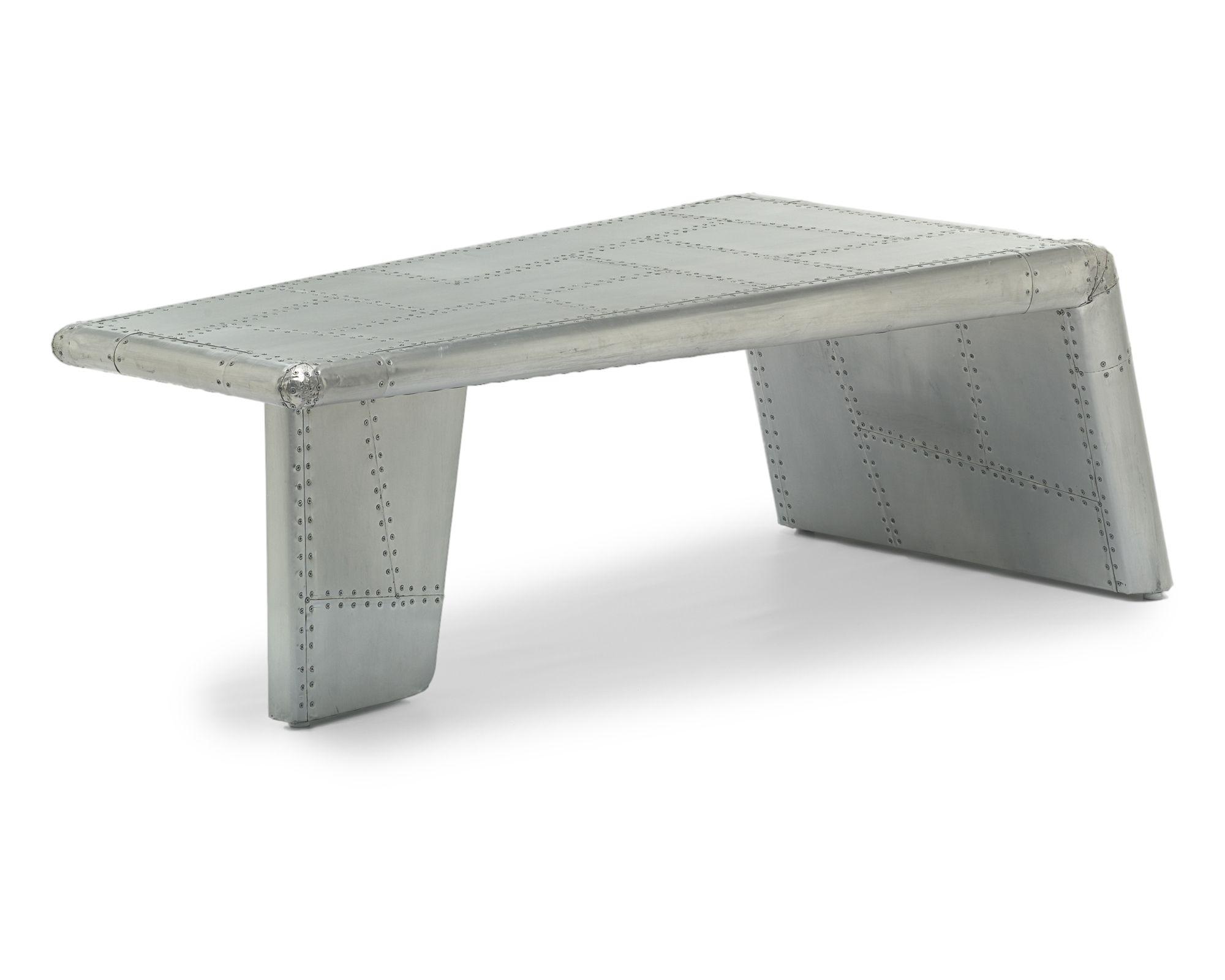 Aviator Wing Coffee Table Tables Rhiwbina Furniture Aluminum