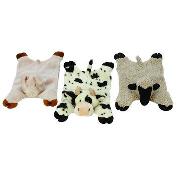 GoDog Barnyard Buddy Dog Toy - not just for the big dogs