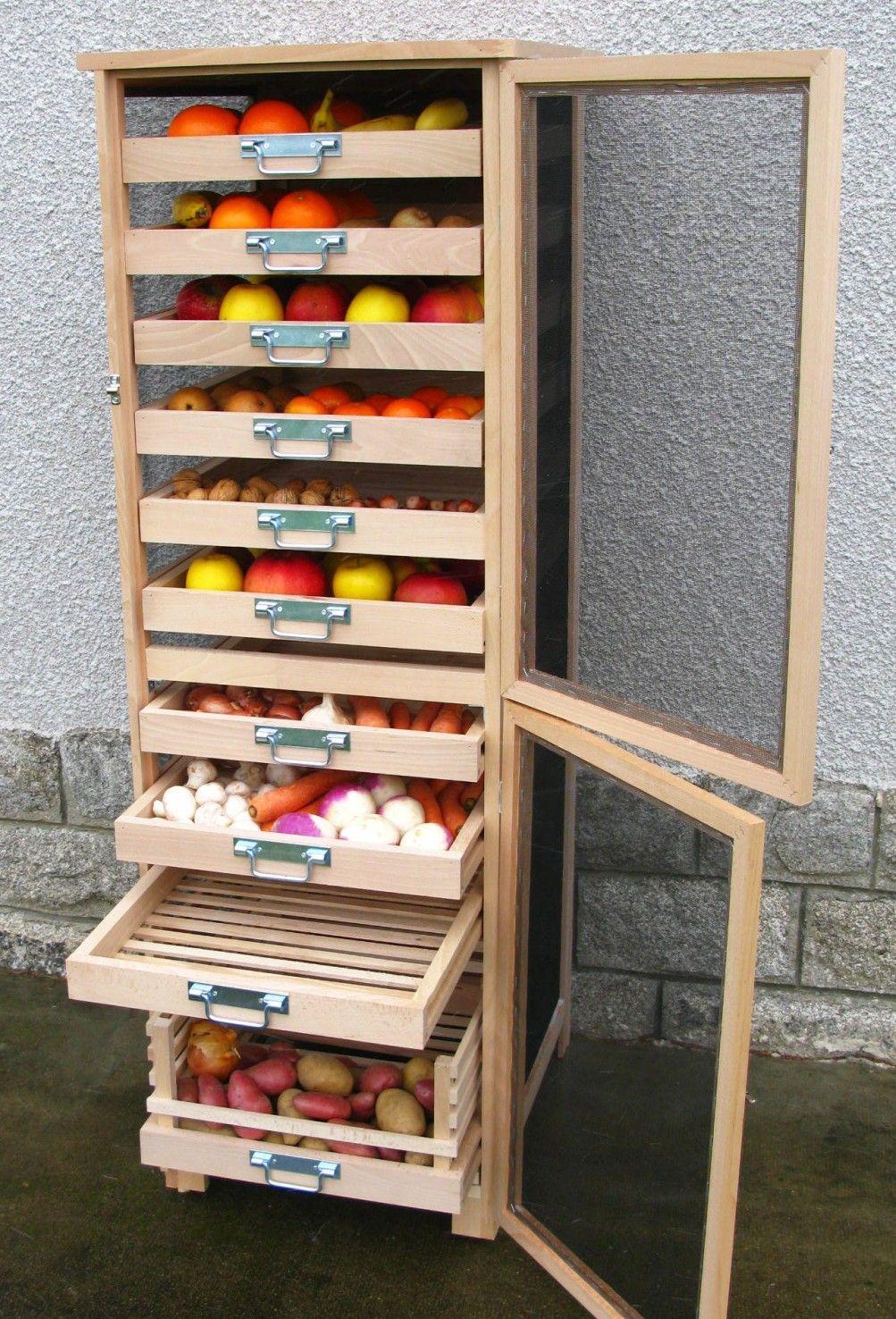 l gumier fruitier vertical maison en 2019 pinterest rangement l gumes rangement maison et. Black Bedroom Furniture Sets. Home Design Ideas