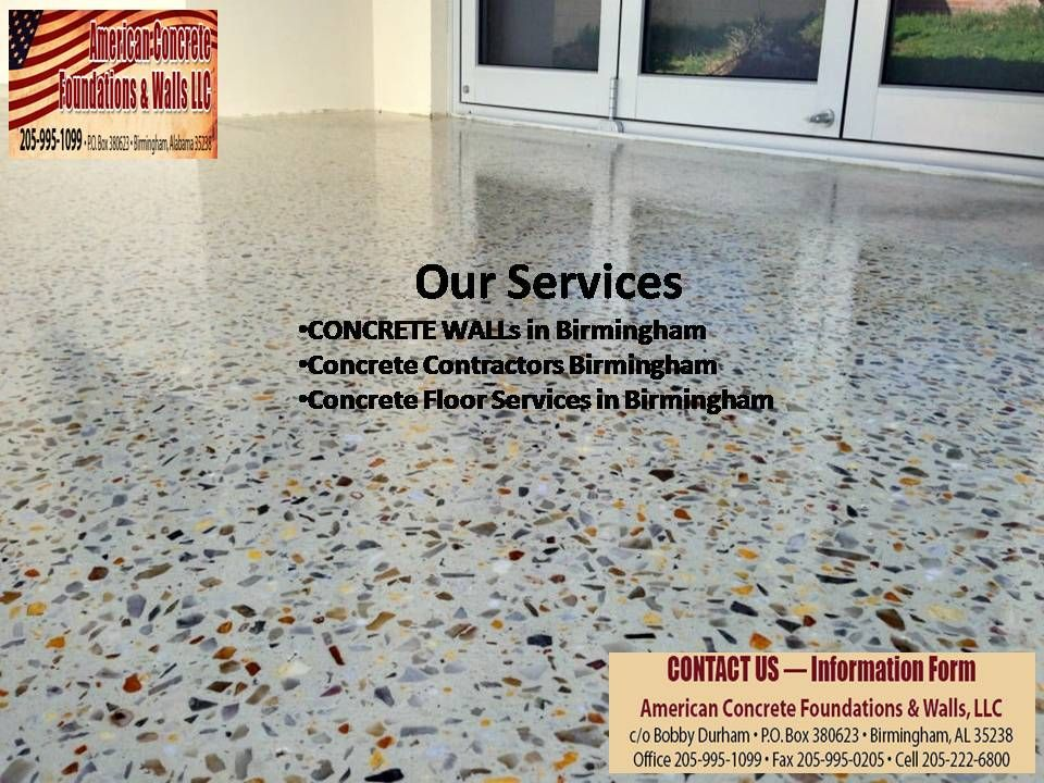 One Of The Top Notch Concrete Floor Services In Birmingham Concrete Wall Concrete Concrete Decor
