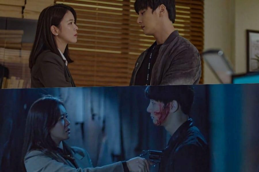 "Watch: Yoon Shi Yoon And Kyung Soo Jin Fall Into Disorder Between Two Worlds In ""Train"" Teaser"