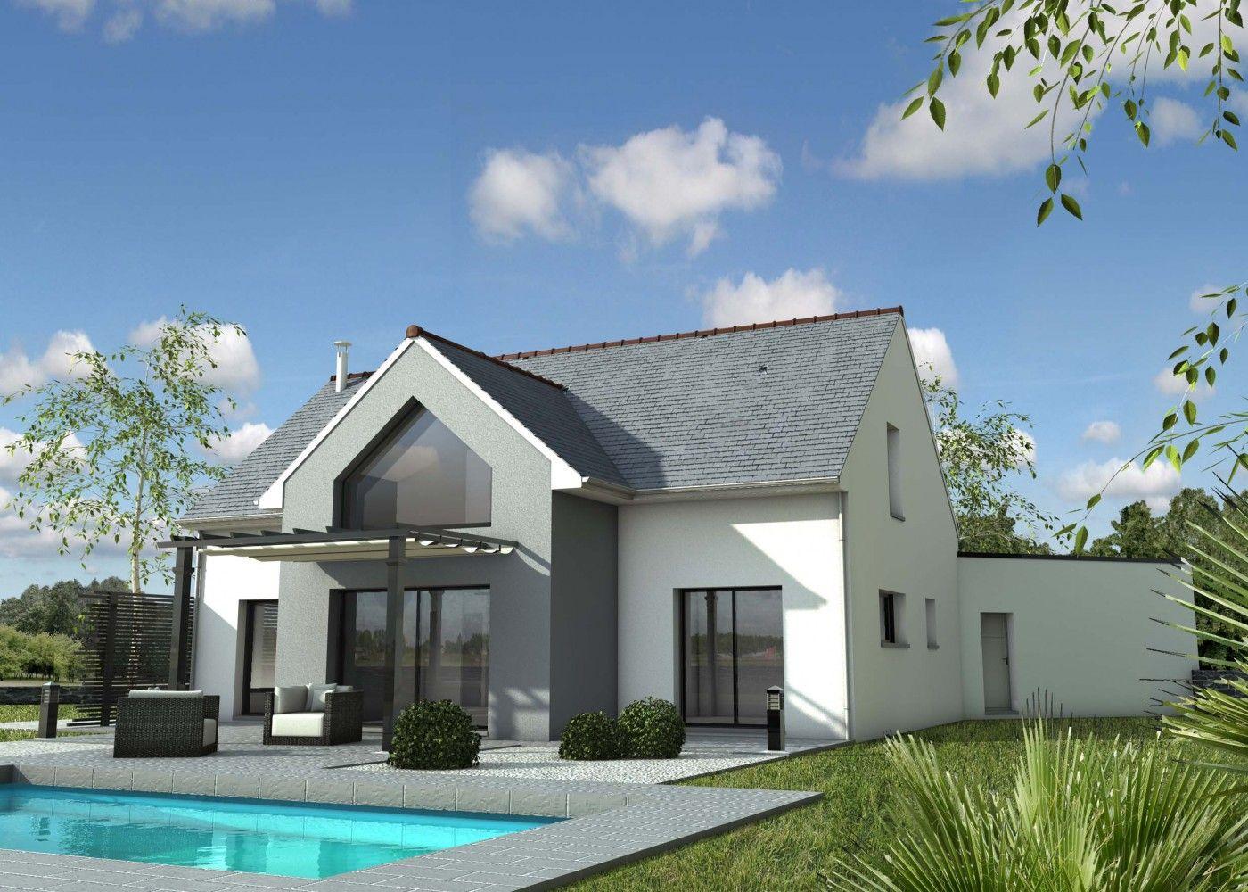 constructeur maison traditionnelle carquefou loire atlantique 44 depreux construction houses. Black Bedroom Furniture Sets. Home Design Ideas