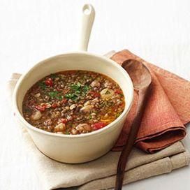Minestra di lenticchie all\'abruzzese - Scuola di cucina   Donna ...