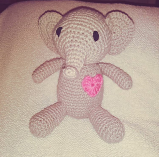 Elephant pattern by Sabrina Somers #crochetelephantpattern