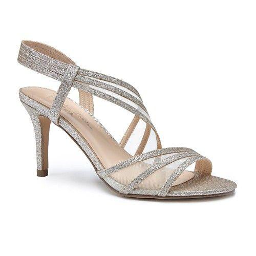 Paradox London Pink MARINA - High heeled sandals - silver glitter Hyf6xO2Lp6