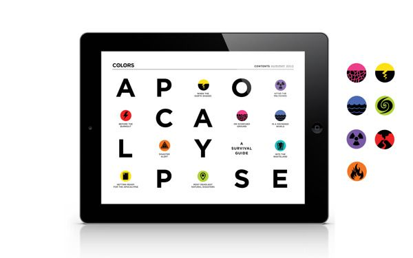///// colors ipad magazine #ipad #digital #interactive #design #magazine #editorial #layout