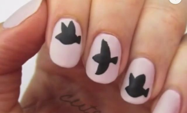 Divergent Nail Art Things I Love Pinterest Divergent Nails