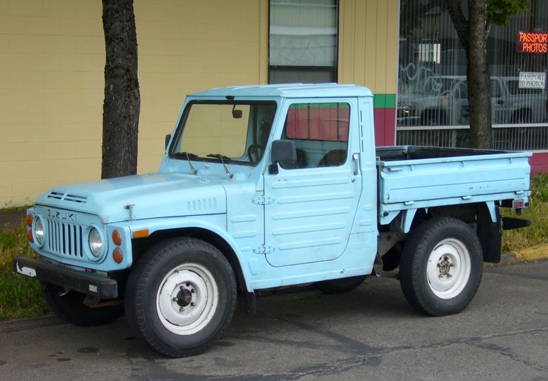 i want this curbside classic 1979 suzuki jimny pickup. Black Bedroom Furniture Sets. Home Design Ideas