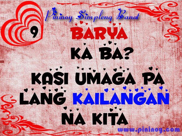 Love pick up lines tagalog nakakakilig