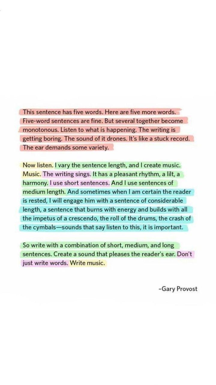 create an essay english
