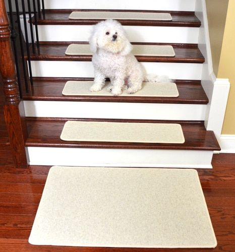 Best Dean Tape Free Pet Friendly Premium Wool Non Slip Stair 400 x 300