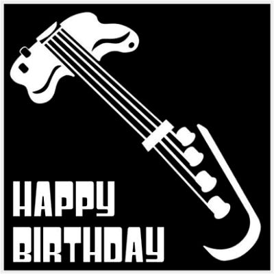 Happy Birthday To A Bass Player Google Search