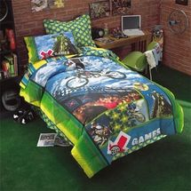 X-GAMES MOTOCROSS Childrens Bedding for Boys