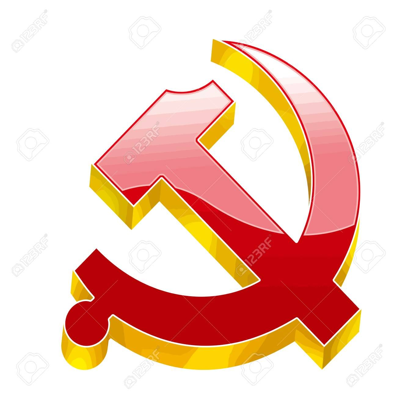 Communism Socialism Union Soviet Revolution Red Yellow Illustration Affiliate Union Soviet Communism Socialism Yellow Art Design Illustration Art