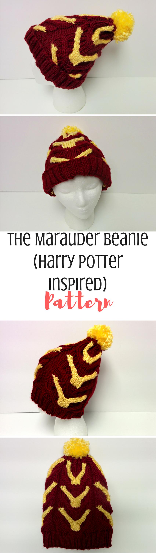 The Marauder: A Harry Potter Beanie