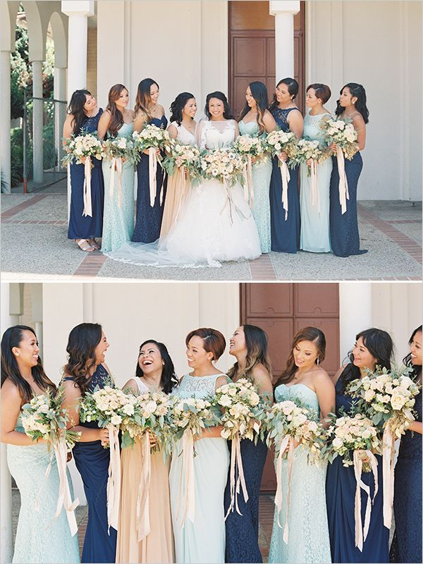 9d1f188ff12 mint and navy  bridesmaids  weddingchicks
