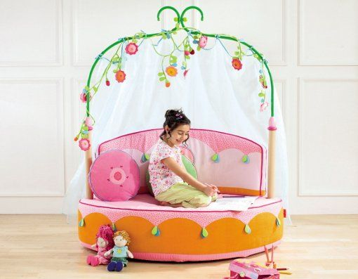 Wondrous Sofa For Little Girls Sofa Flowers Furnikidz Com Best Bralicious Painted Fabric Chair Ideas Braliciousco