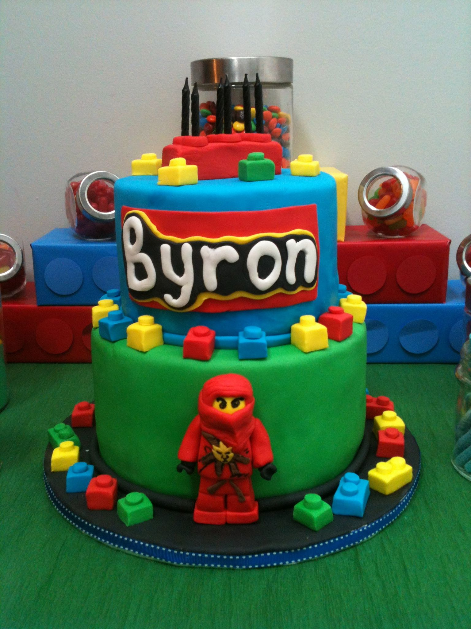 Lego Partynjago Cake Made By Sugar Shake Cakes Calgary