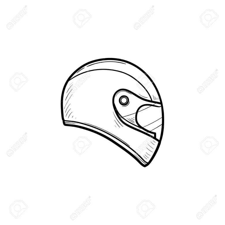 18 Motorcycle Helmet Drawing Helmet Drawing Motorcycle Helmet Drawing Motorbike Drawing