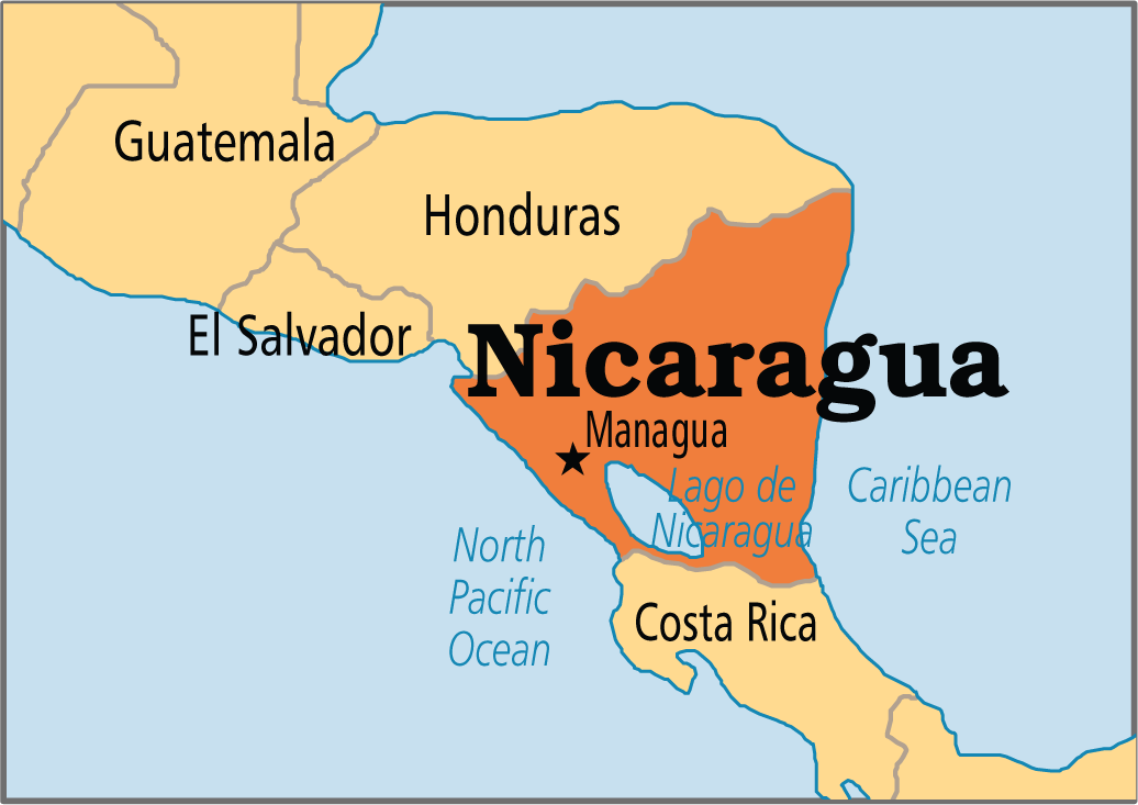 Learn More About Nicaragua And Challenges To Prayer Click Here - Where is nicaragua on the world map
