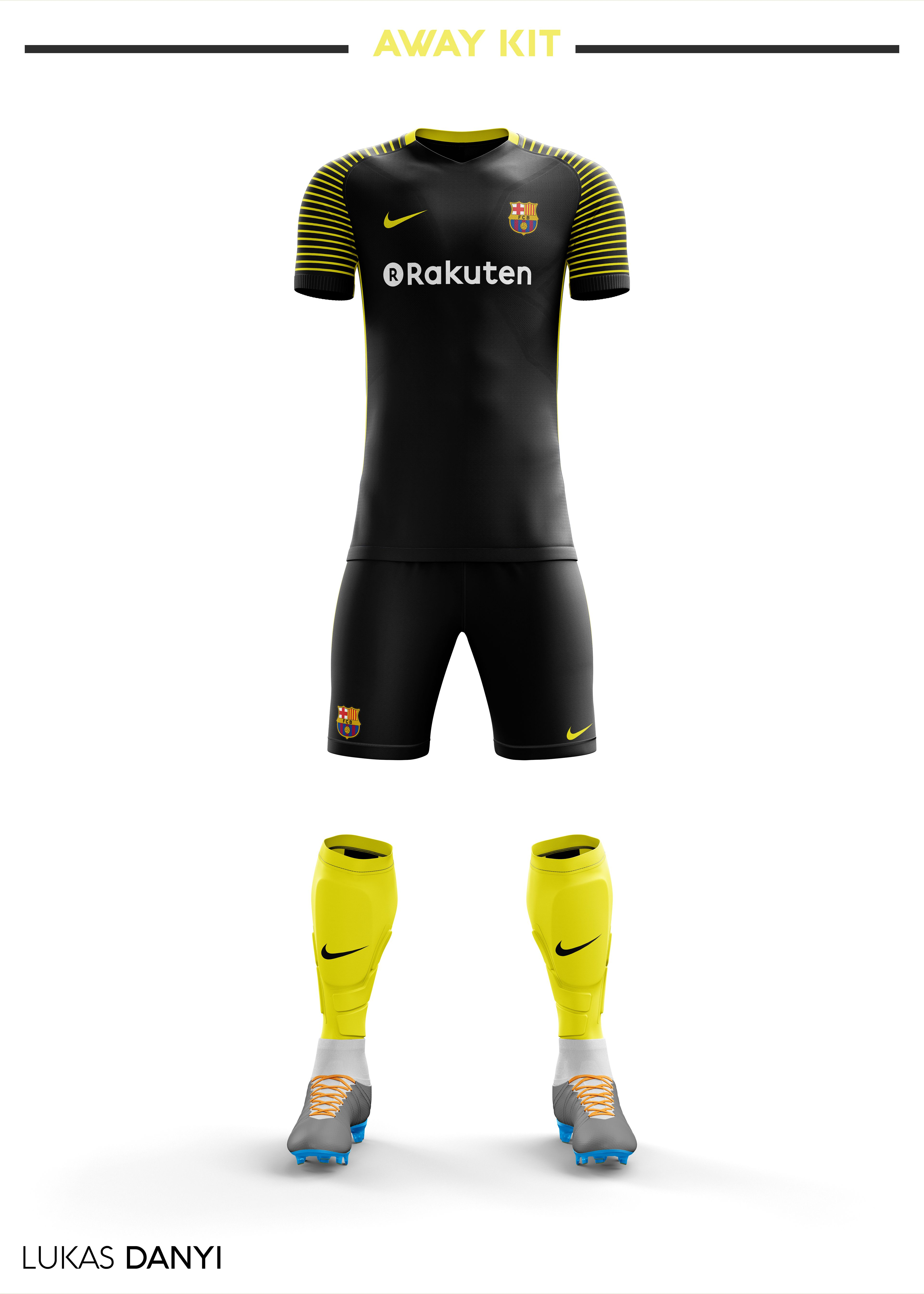 I designed football kits for FC Barcelona for the upcoming season 18 19. I  designed football kits for FC Barcelona for the upcoming season 18 19. the  home ... 2ba01b1d04a