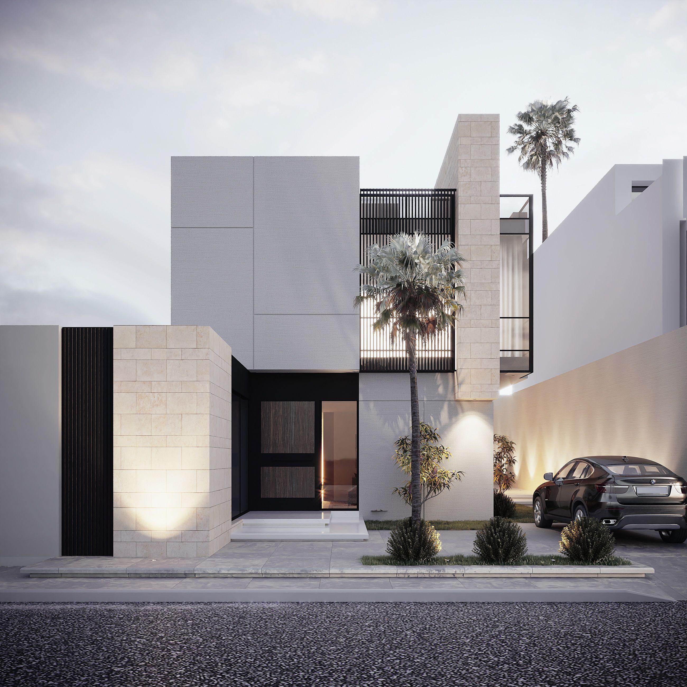 سكني Housing Designs Dream House Exterior House Design Architecture House