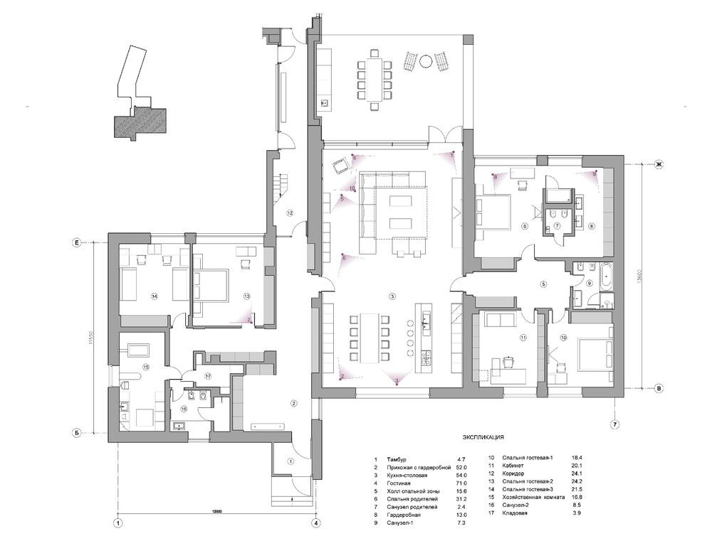 Home Master Plan Idea With Dining Room Floor And Living Also