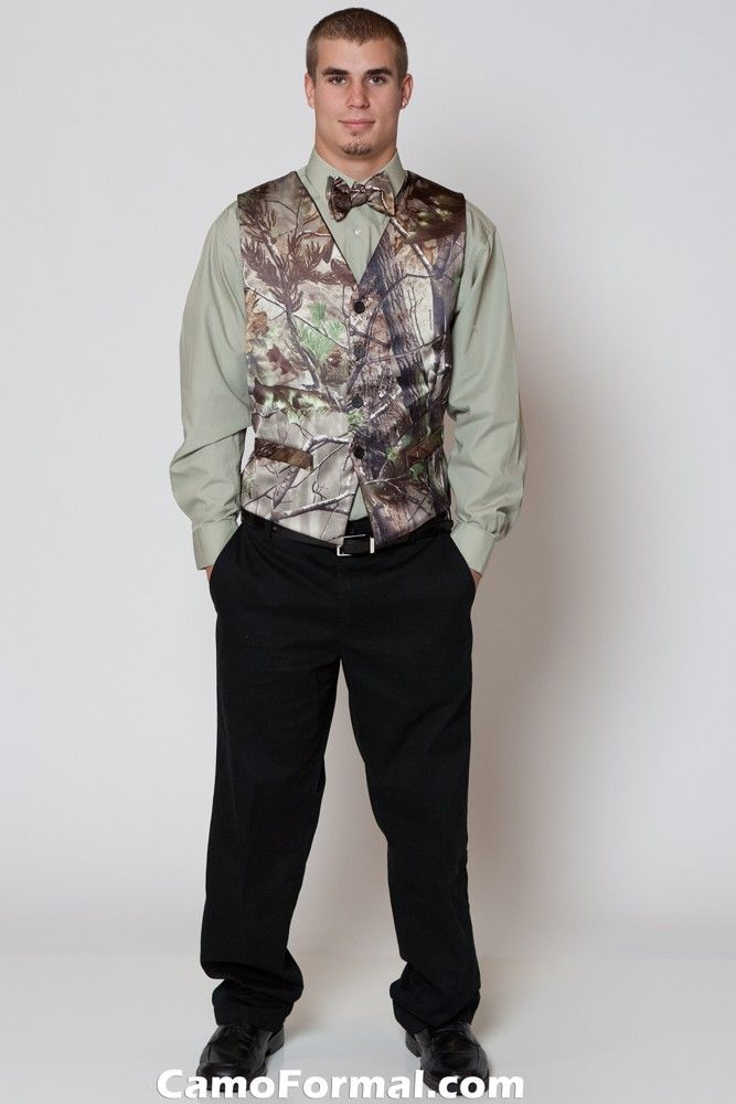 camo wedding suit | Mossy Oak Attire for Men Camouflage Prom Wedding ...