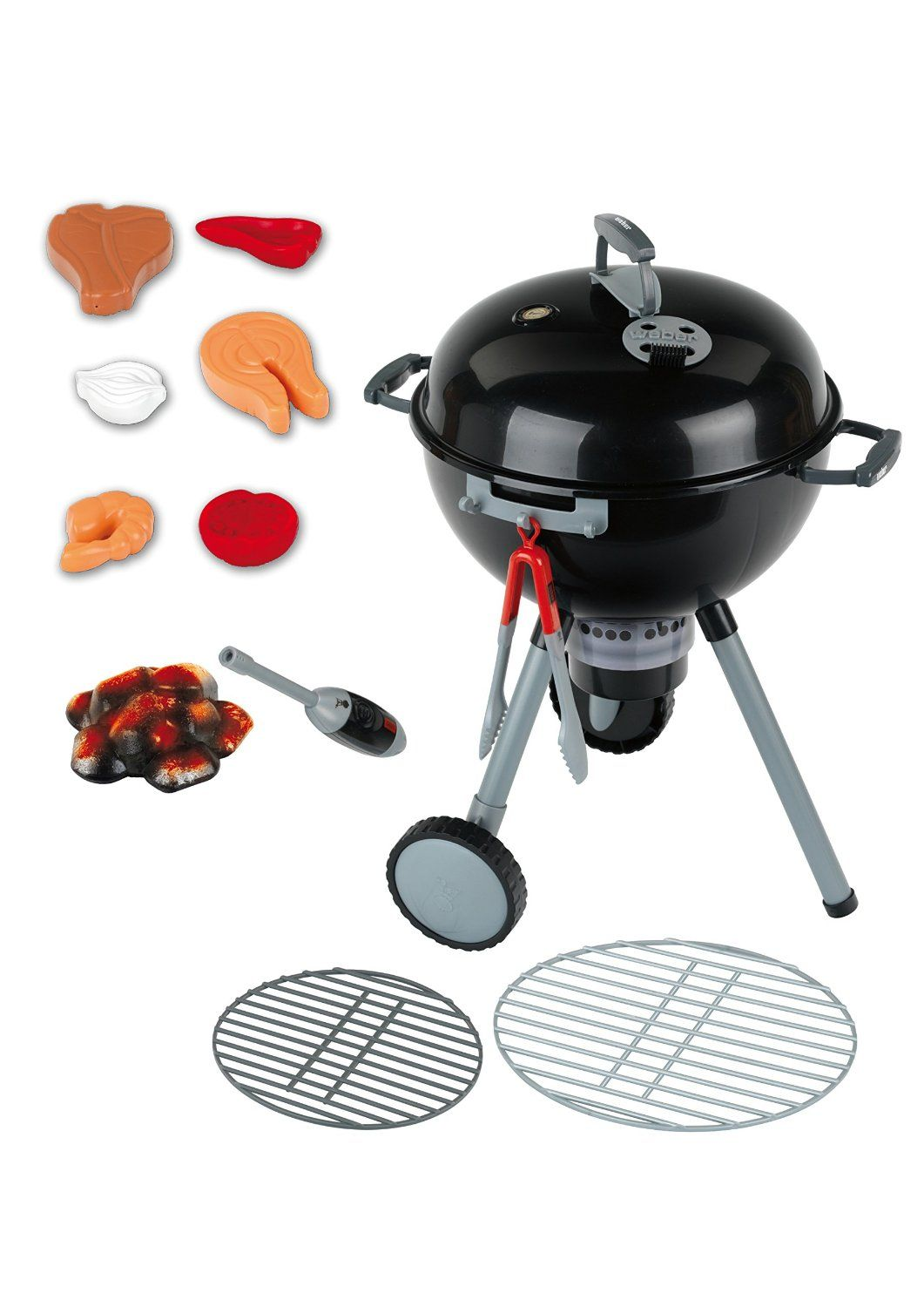Kids Play Charcoal Weber Grill | Weber grill and Plays