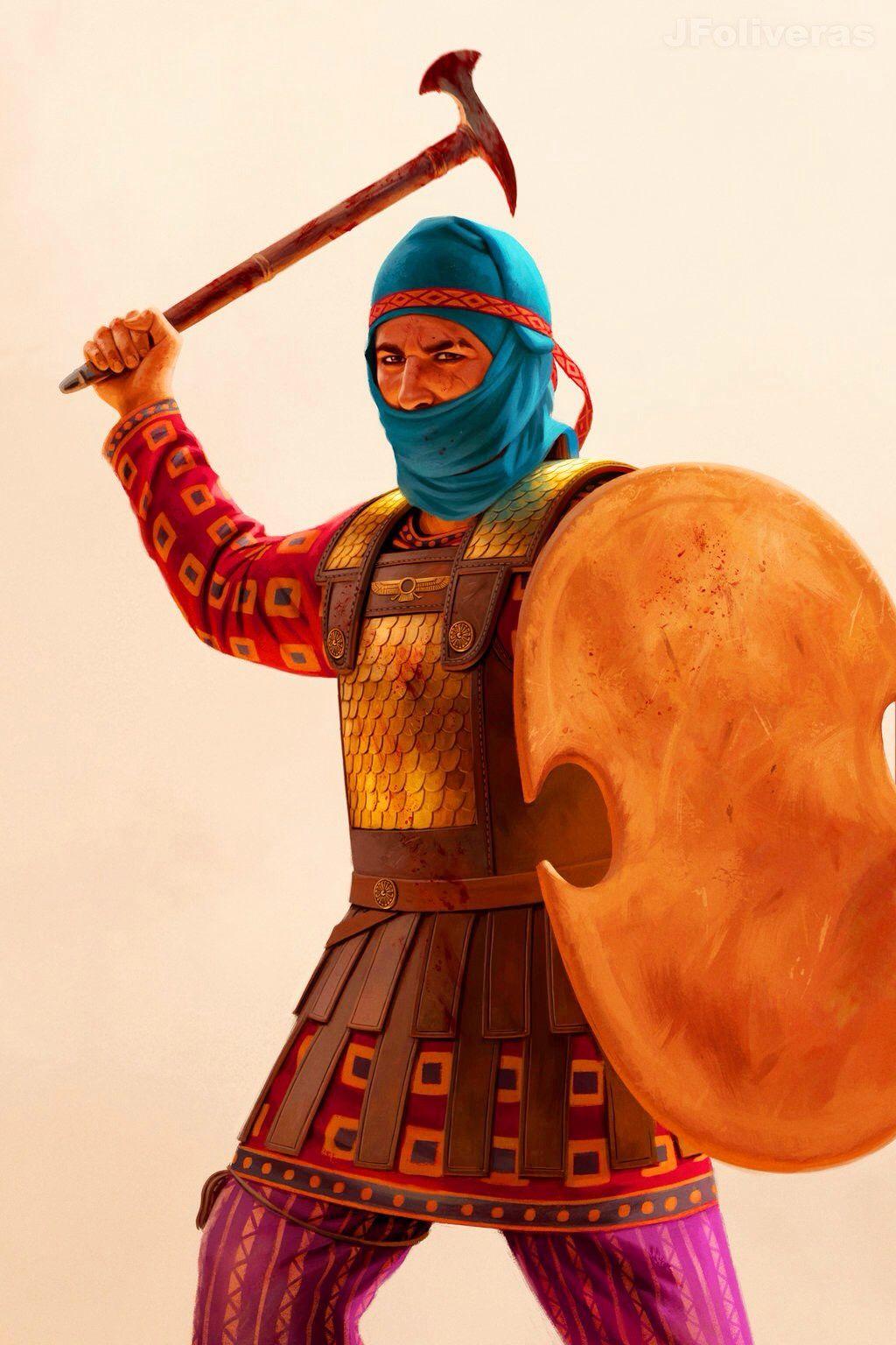 ArtStation - Scythian chieftain, Joan Francesc Oliveras