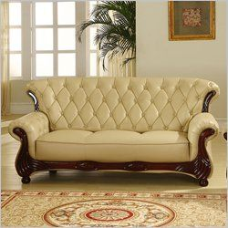 Carved Wood Tufted Fabric High Back Thick Cushions What About A Non Traditional And Or Color