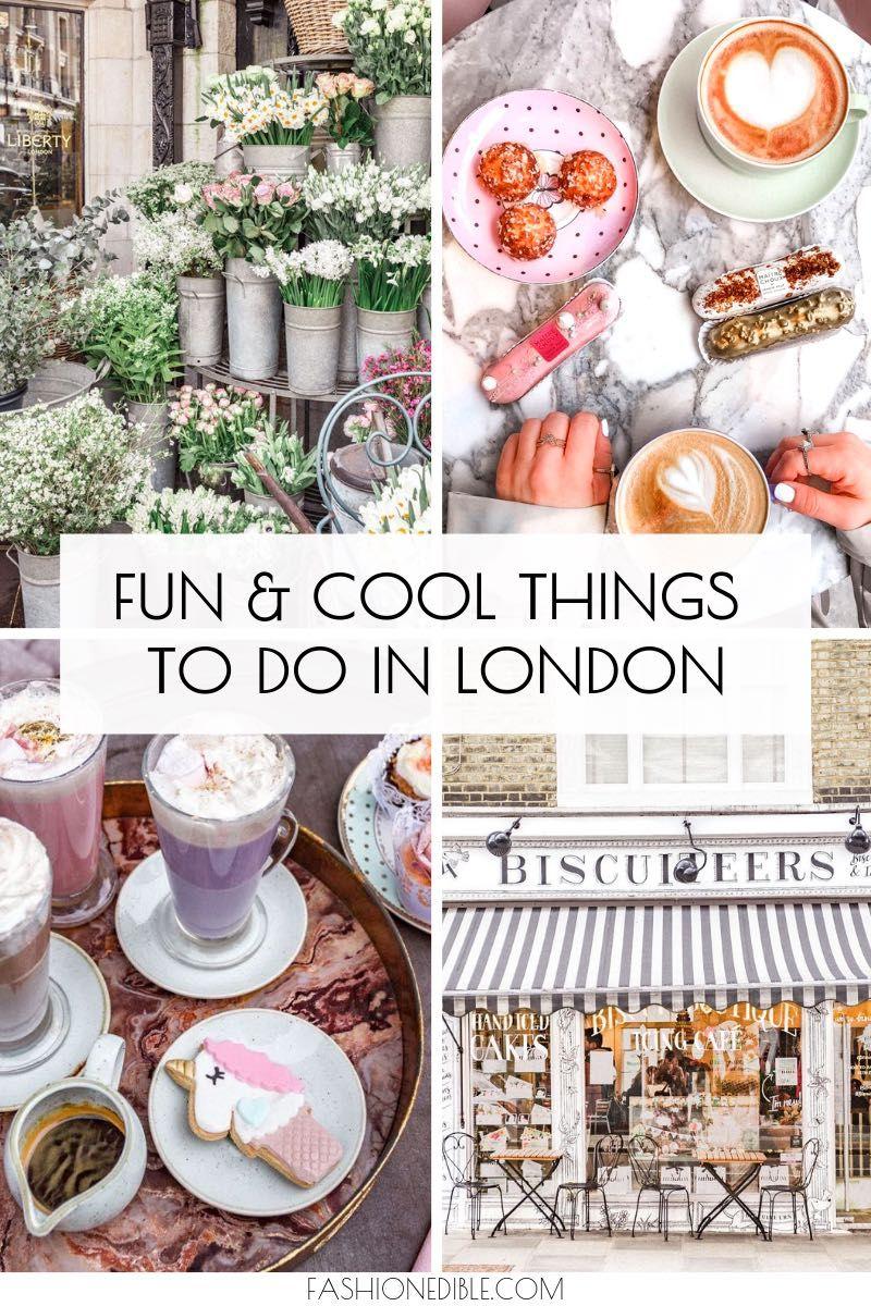Choses cool à faire à Londres en Angleterre