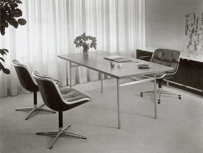Pollock Executive Chair Executive Office Design Furniture Design Modern Knoll Furniture