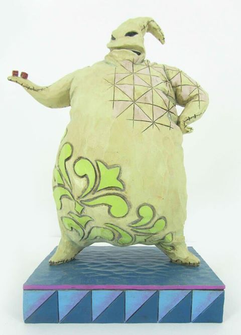 Roll The Dice Oogie Boogie Figure Jim Shore Disney Traditions From Walt Disneys Tim Burtons The Nightmare Before Christmas