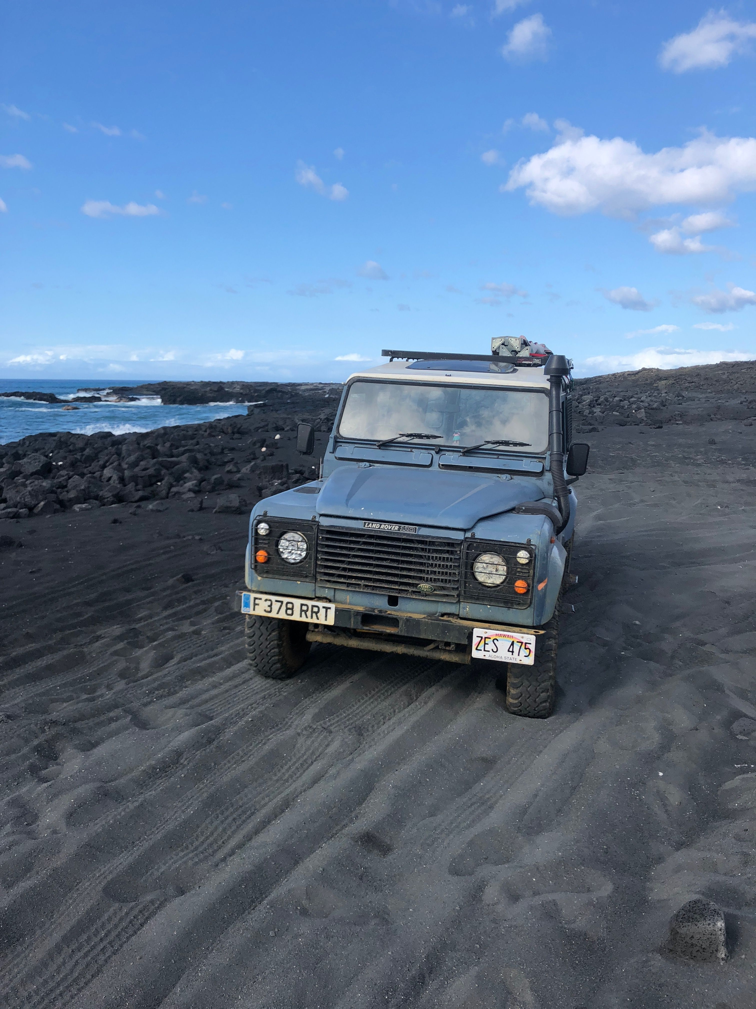 Fields Land Rover >> Exploring Lava Fields And Finding Hidden Beaches In A Land