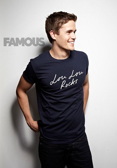 Home and Away Hunks In FAMOUS - Nic Westaway (Kyle Braxton) - this is still my favourite ever picture of Nic