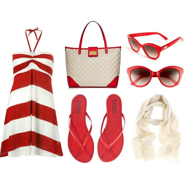 Summer Stripes by inherview on Polyvore #summer #fashion