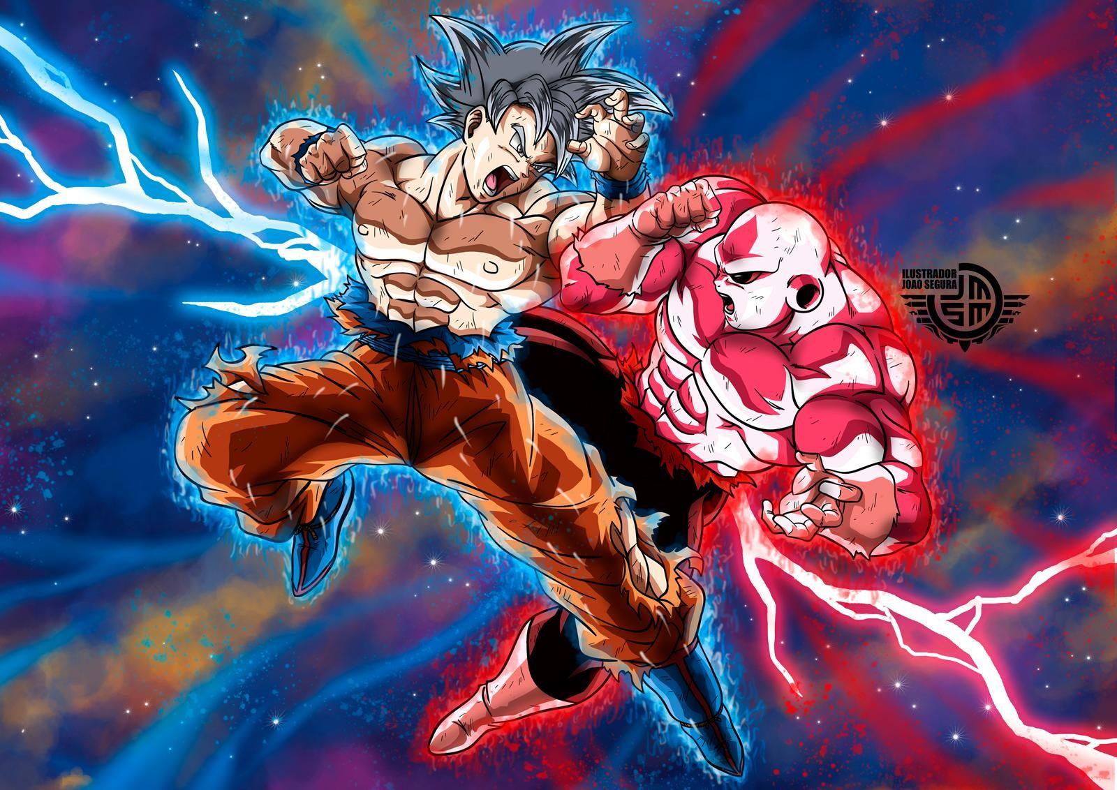 Goku Vs Jiren By Ilustradorjoaosegura On Deviantart Goku Vs Jiren Goku Goku Vs