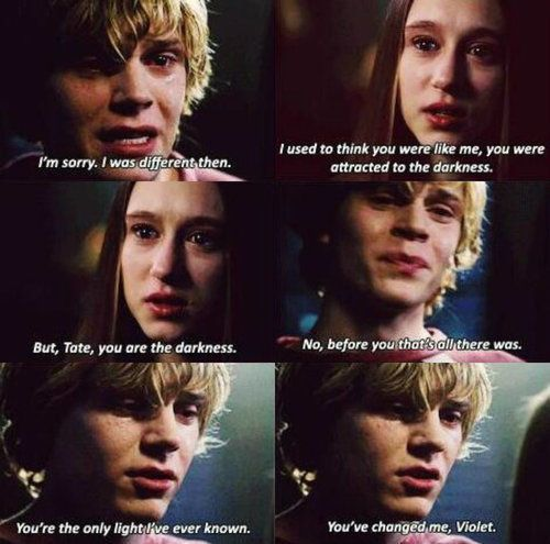 Tate & Violet | American horror story, American horror ...