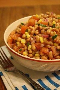 Black Eyed Pea Salad | Traditional Food Recipes
