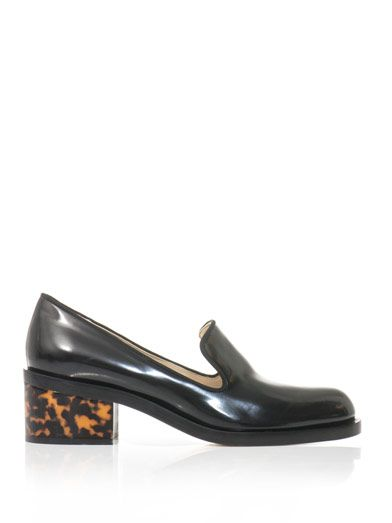 Why am I so in to these Stella McCartney patent leather loafers?